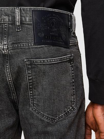 Diesel - D-Vider 009QZ, Noir/Gris foncé - Jeans - Image 4