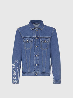 NHILL-SP2, Hellblau - Denim jacken