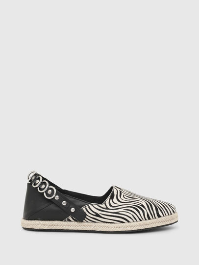 Diesel - S-LIMA W, Noir/Blanc - Chaussures Plates - Image 1