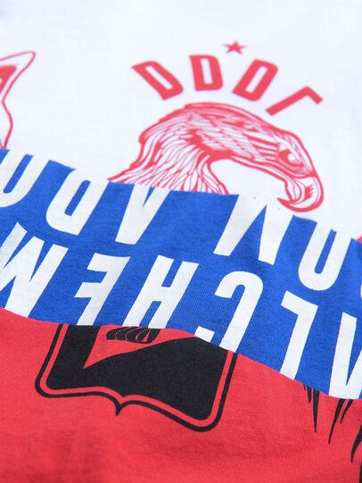 Diesel - TJUSTA1, Weiß/Rot/Blau - T-Shirts und Tops - Image 3