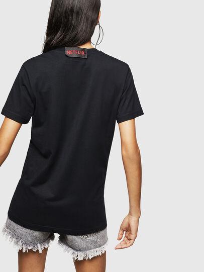 Diesel - LCP-T-DIEGO-MARSELLA, Schwarz - T-Shirts - Image 5