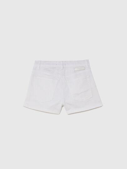 Diesel - PBOYSHORT JOGGJEANS, Bianco - Shorts - Image 2