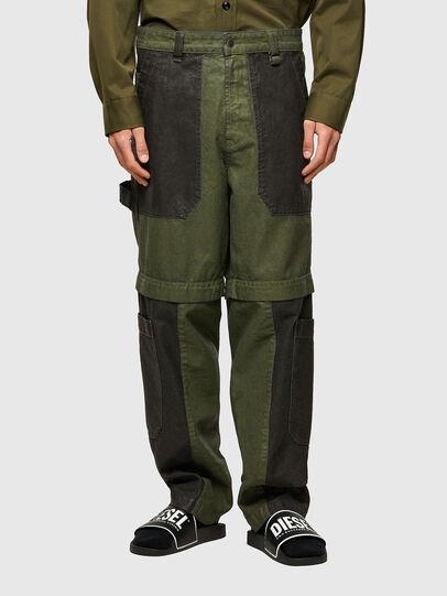 Diesel - D-Multy 0IDAQ, Vert - Jeans - Image 1
