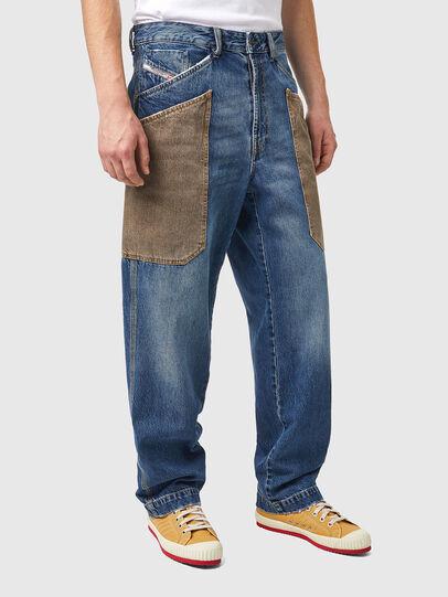 Diesel - D-Franky 0GCAY, Bleu moyen - Jeans - Image 3