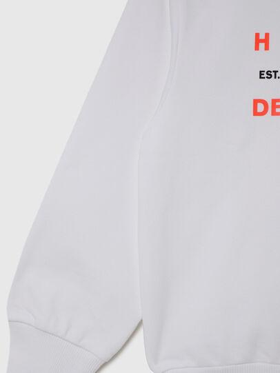Diesel - SGIRKK10 OVER, Blanc - Pull Cotton - Image 4