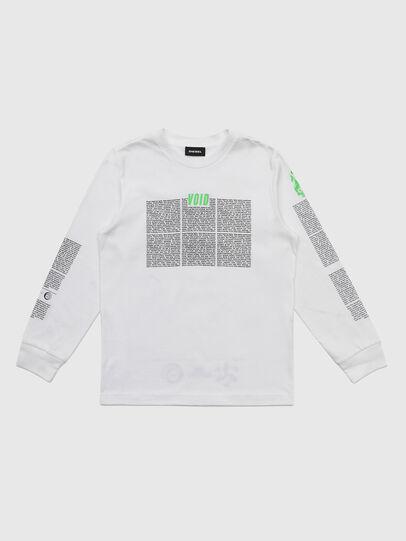 Diesel - TJUSTLS-NEW, Weiß - T-Shirts und Tops - Image 1