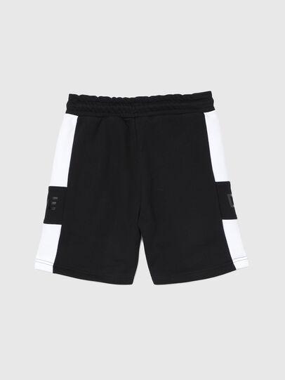 Diesel - PSHAM, Noir/Blanc - Shorts - Image 2