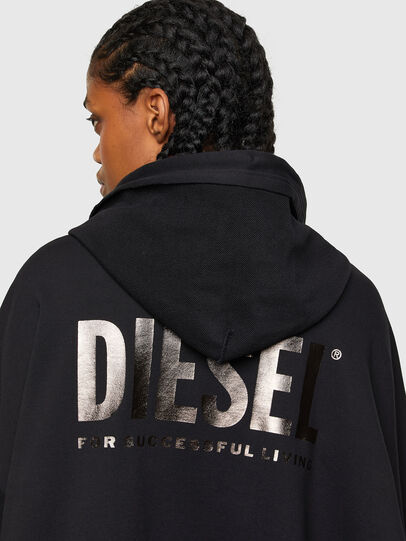 Diesel - F-BILLY-LOGO, Noir - Pull Cotton - Image 4
