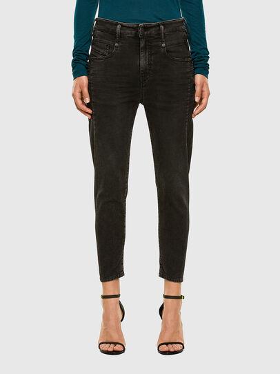 Diesel - FAYZA JoggJeans® 009HM, Schwarz/Dunkelgrau - Jeans - Image 1