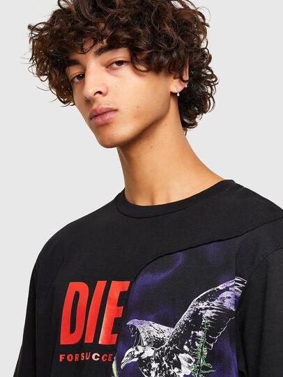 Diesel - T-BLAST, Nero - T-Shirts - Image 3