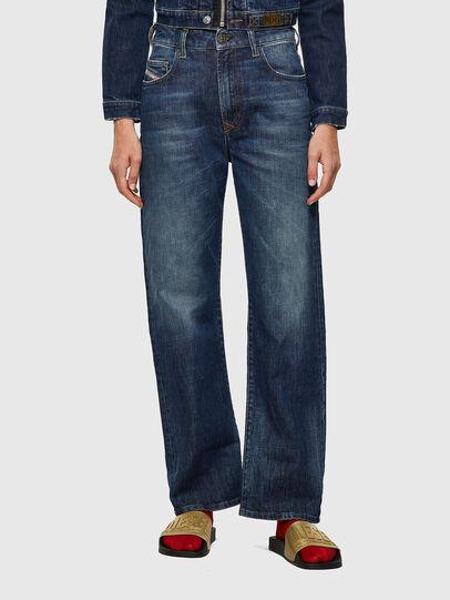 Diesel - D-Reggy 09A06, Bleu Foncé - Jeans - Image 1