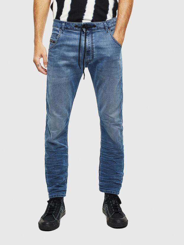 Krooley JoggJeans 069MA, Mittelblau - Jeans