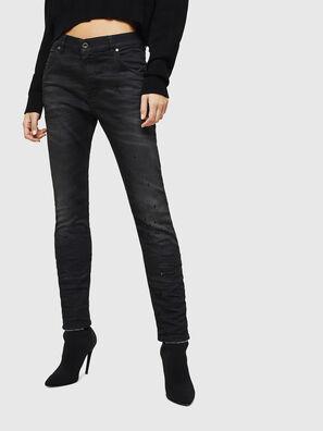 Krailey JoggJeans 069GN, Schwarz/Dunkelgrau - Jeans