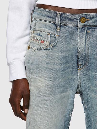 Diesel - Fayza 09A04, Blu Chiaro - Jeans - Image 4