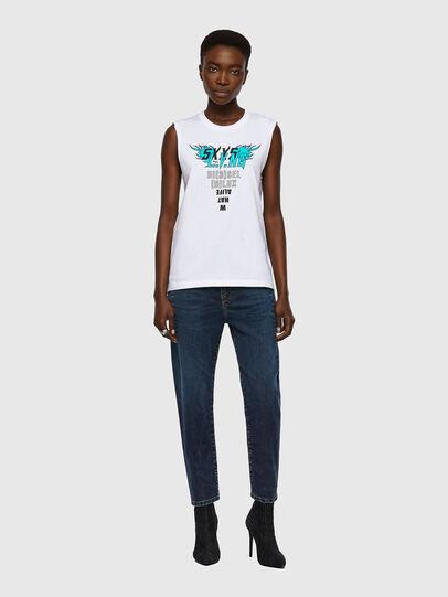 Diesel - T-SILESS, Blanc - T-Shirts - Image 4
