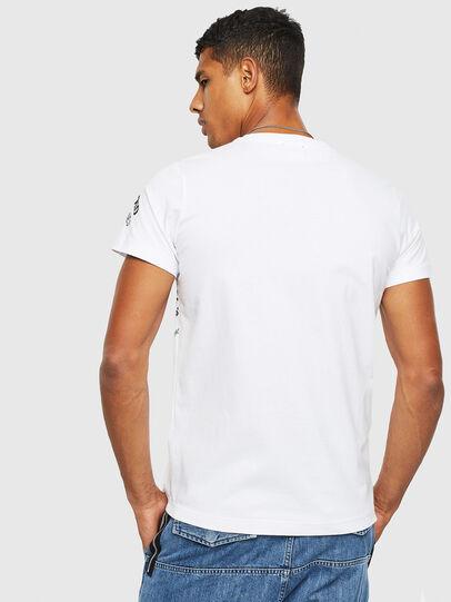 Diesel - T-DIEGO-S3, Weiß - T-Shirts - Image 2