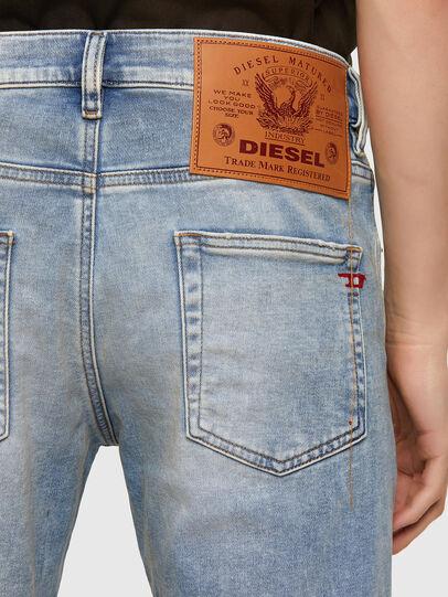 Diesel - D-Strukt JoggJeans® 069UU, Bleu Clair - Jeans - Image 4