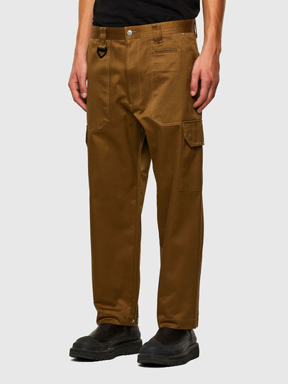 Diesel - P-BAKER, Marron - Pantalons - Image 7