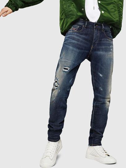 Diesel - D-Strukt 0890W, Dunkelblau - Jeans - Image 1