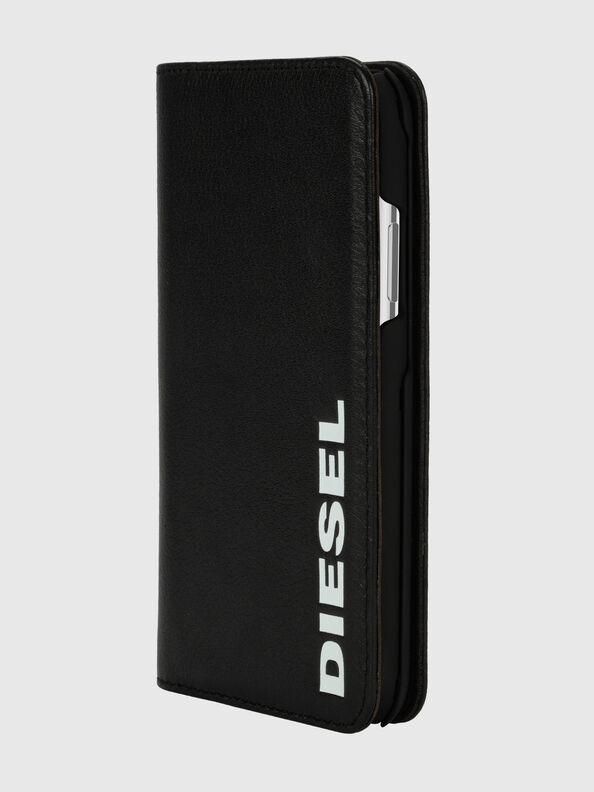 DIESEL 2-IN-1 FOLIO CASE FOR IPHONE XS & IPHONE X,  - Klappcover