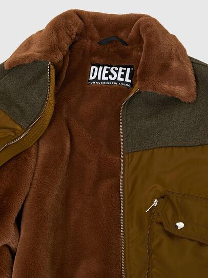 Diesel - W-LOUIS, Dunkelgrün - Winterjacken - Image 5