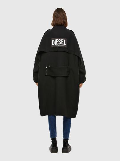 Diesel - W-TILLER, Nero - Giacche invernali - Image 2