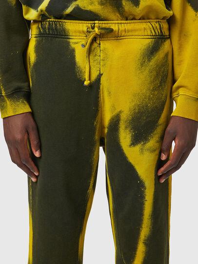 Diesel - P-CALTON-RIB-B1, Jaune/Vert - Pantalons - Image 5
