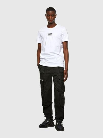 Diesel - T-DIEGOS-SMALLOGO, Blanc - T-Shirts - Image 4