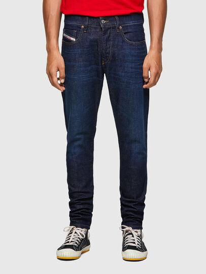 Diesel - D-Strukt 09A12, Bleu Foncé - Jeans - Image 1