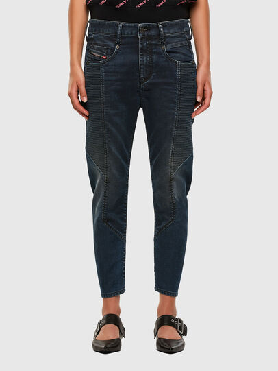 Diesel - Fayza JoggJeans 069PQ, Dunkelblau - Jeans - Image 1