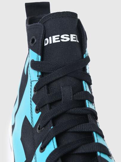 Diesel - S-ASTICO MID CUT, Nero/Blu - Sneakers - Image 4