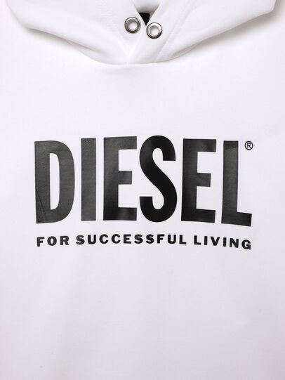 Diesel - SDIVISION-LOGOX OVER, Weiß - Sweatshirts - Image 3