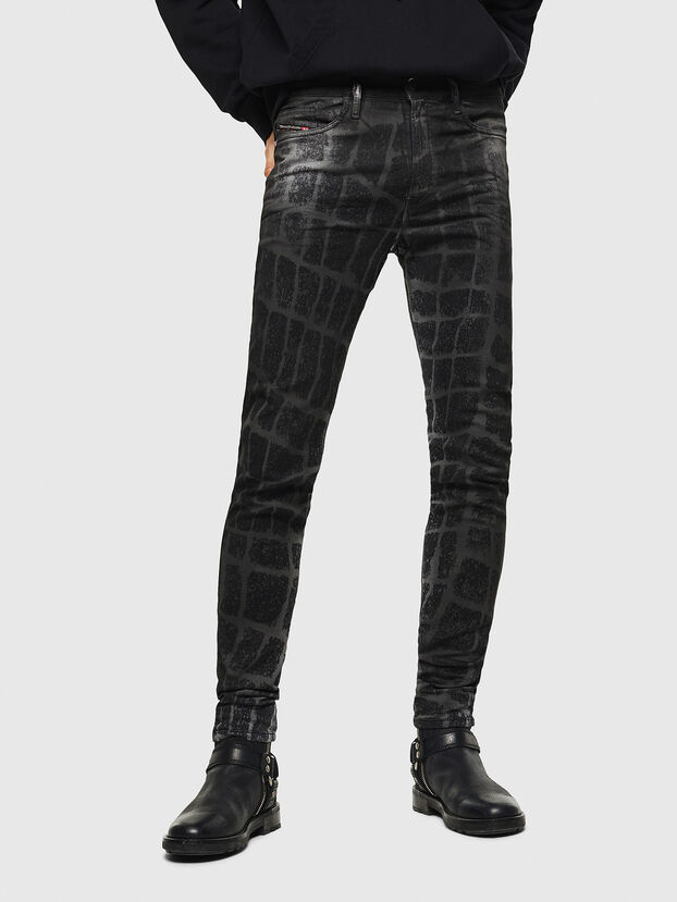 D-Reeft JoggJeans 0094M, Schwarz/Dunkelgrau - Jeans