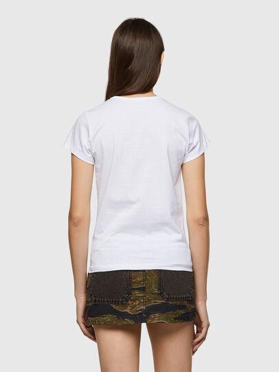Diesel - T-SLICUP-B1, Blanc - T-Shirts - Image 2