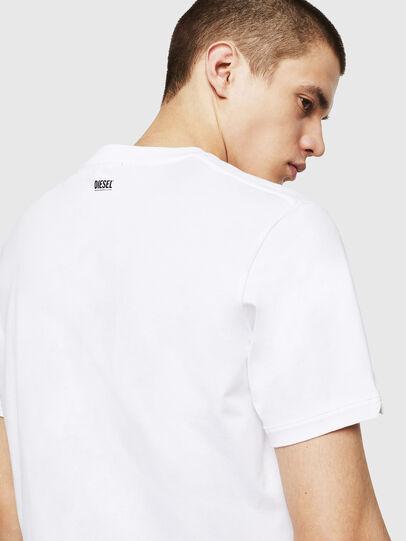 Diesel - T-CHERUBIK-NEW, Weiß - T-Shirts - Image 3