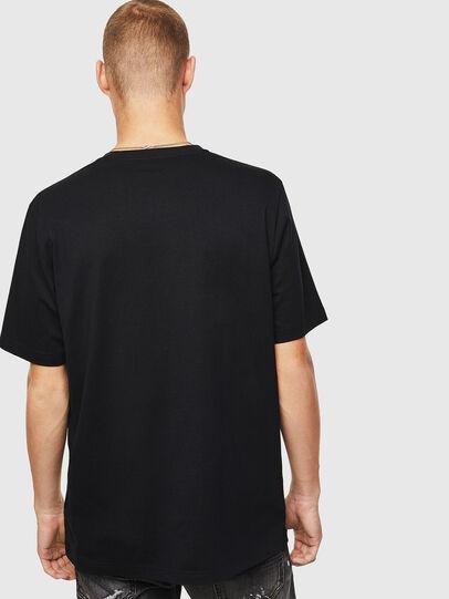 Diesel - T-JUST-J15, Schwarz - T-Shirts - Image 2