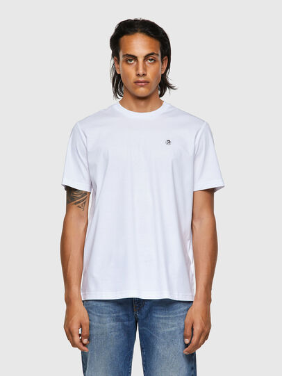 Diesel - T-JUST-ROMOHI, Blanc - T-Shirts - Image 1