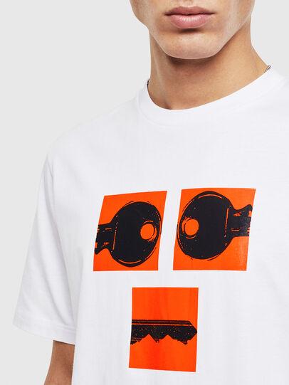 Diesel - T-JUST-T23, Weiß - T-Shirts - Image 5