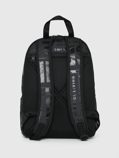 Diesel - X-BOLD BACK, Black - Backpacks - Image 2