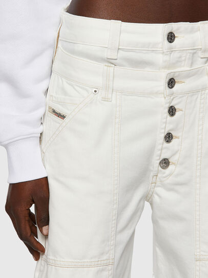 Diesel - D-Laly 0HDAI, Bianco - Jeans - Image 4