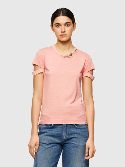 Diesel - T-BULLOCK-A1, Rose - T-Shirts - Image 1