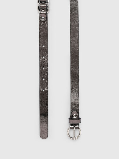 Diesel - B-OLIMP, Grey/Black - Belts - Image 3
