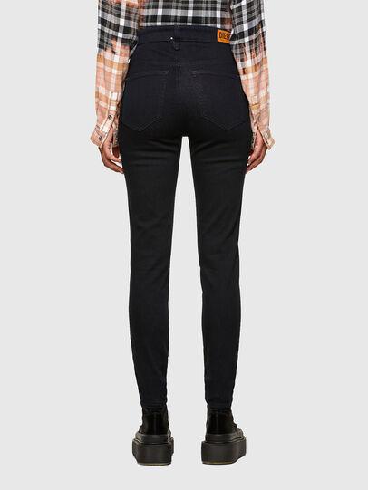 Diesel - Slandy High 009CW, Blu Scuro - Jeans - Image 2