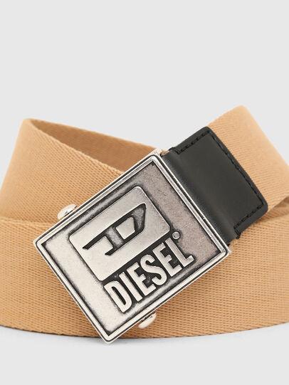 Diesel - B-METALTAPE, Jaune - Ceintures - Image 2