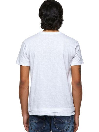 Diesel - T-RONNIE, Weiß - T-Shirts - Image 2