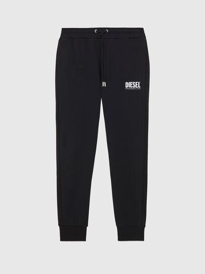 Diesel - P-TARY-LOGO, Noir - Pantalons - Image 1