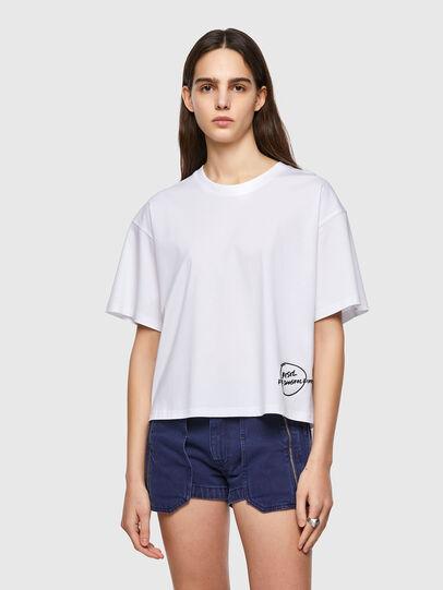 Diesel - T-BOWBOW, Blanc - T-Shirts - Image 1