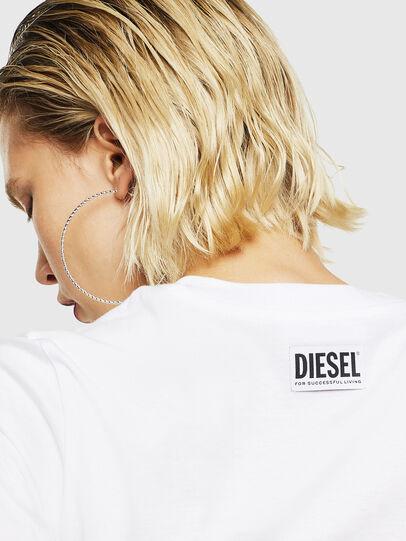 Diesel - T-SILY-YB, Weiß - T-Shirts - Image 4