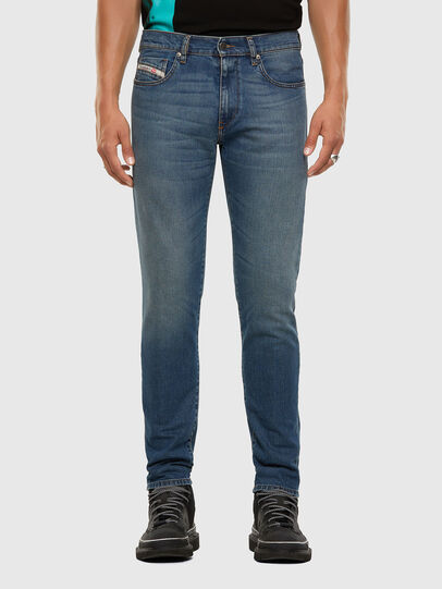 Diesel - D-Strukt 009EI, Mittelblau - Jeans - Image 1