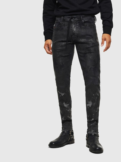 Diesel - Thommer JoggJeans 084AI, Schwarz/Dunkelgrau - Jeans - Image 1